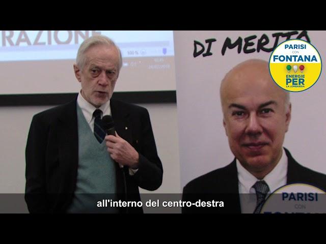 Intervista a Carlo Scognamiglio: perchè votare Edoardo Croci