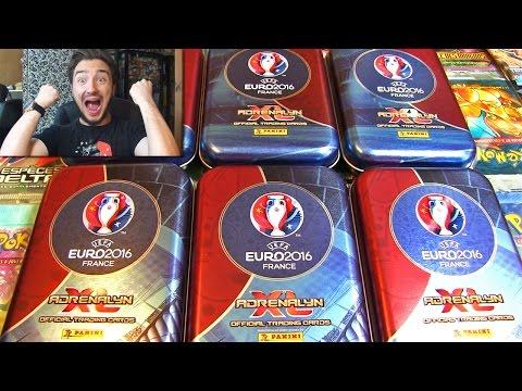 Ouverture de 6 BOX UEFA EURO 2016 FRANCE !! LA FRANCE GAGNE 2-1 CONTRE L'IRLANDE !