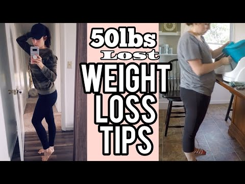 50lbs Down | Weight Loss Tips | How To Lose 50 Pounds