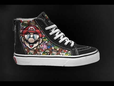 c279749a2a10 The Handlebar Gamer - Mail Call Pickup! Nintendo Vans shoes and more ...