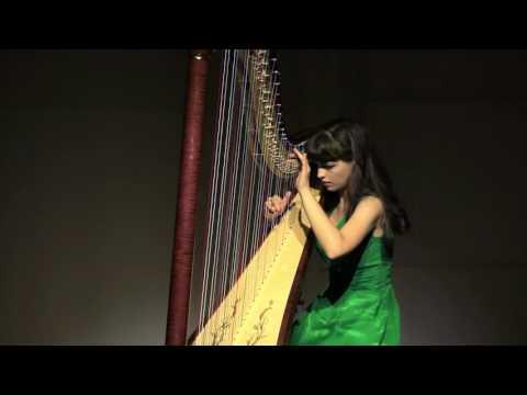 """A.Marescotti """"Mouvement"""" Maria Mikhaylovskaya Harp"""