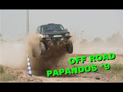 Off Road Papandos *9 папандос  Special Bort28 Fail Crash Funny Comic Tragedy 4x4 Offroad Rollover