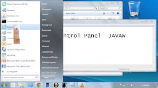 Java verify failure unable to configure control panel does not open ( fix : ) this is a regular problem after successful installation of jre an...