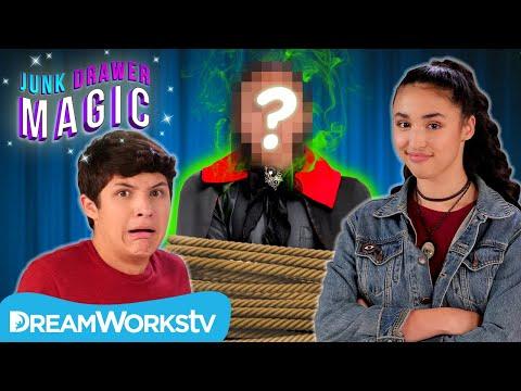 Akira and Walker UNMASK the Headless Magician! | JUNK DRAWER MAGIC