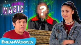 Akira and Walker UNMASK the Headless Magician! | JUNK DRAWER MAGIC