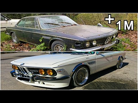 Abandoned BMW E9 Restoration project