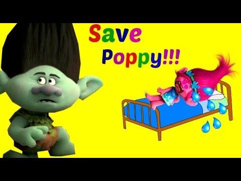 Can Trolls Branch Save Sad Princess Poppy? Will Evil Bergen Chef's Curse Be Broken? - Tons of Toyz