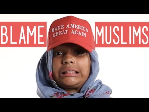 Humble The Poet - Blame Muslims (Spoken Video)