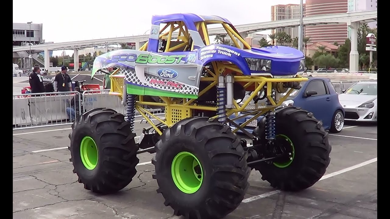 Trophy Truck For Sale >> Mini Monster Truck SEMA 2013 - YouTube
