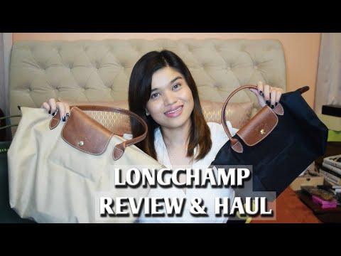 LONGCHAMP LE PLIAGE REVIEW & HAUL