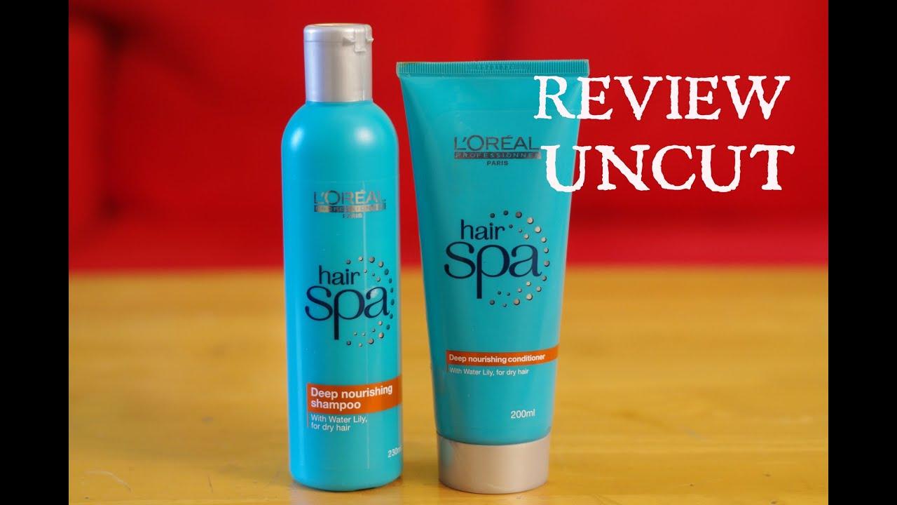 Review UNCUT LOreal Hair Spa Deep Conditioning Shampoo
