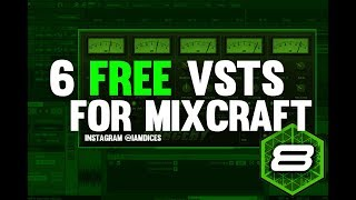 6 FREE VSTs for Mixcraft 8 | Compressors, LFO fx, Gross Beat Alternative, etc.