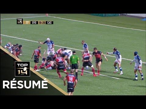 TOP 14 - Résumé Oyonnax-Castres: 19-32 - J9 - Saison 2017/2018