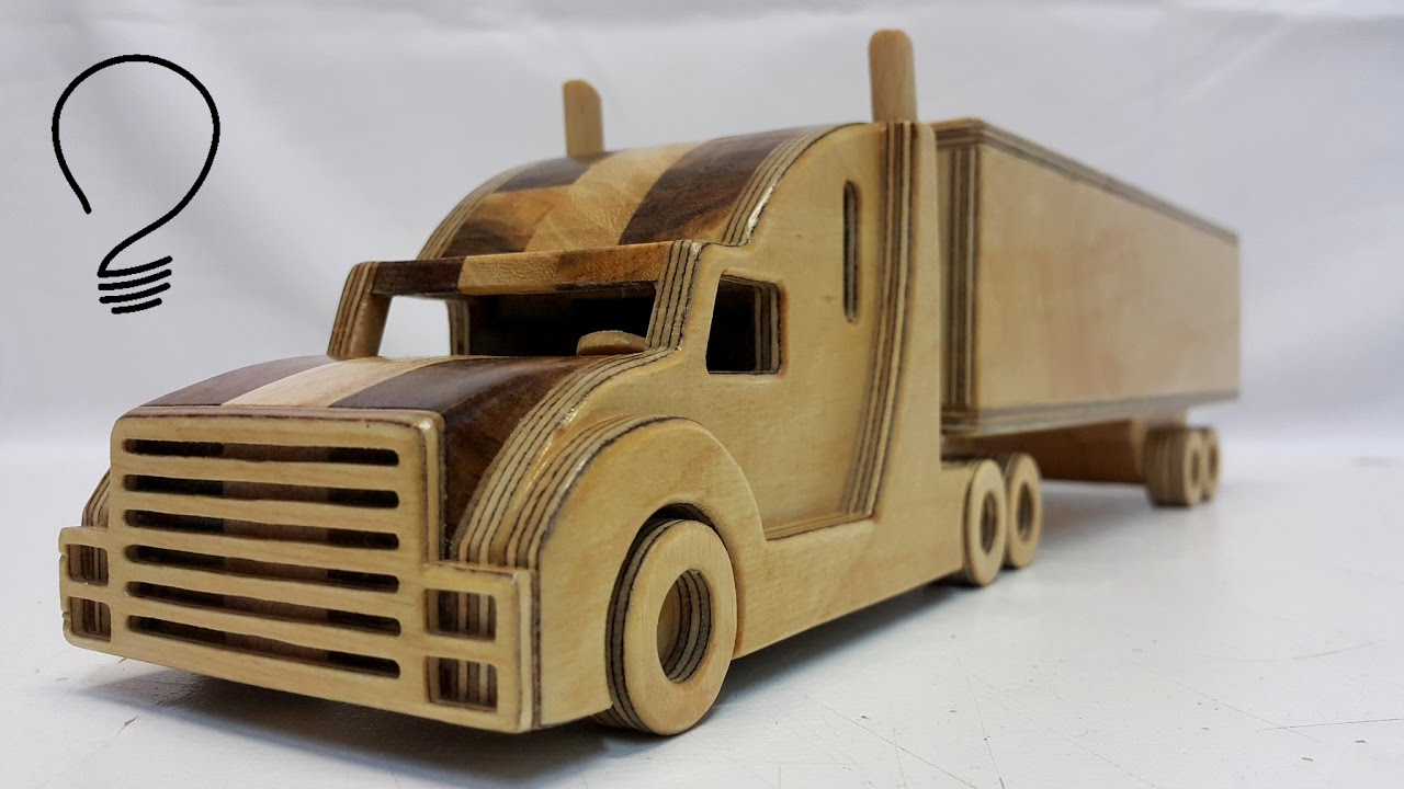 Wooden Truck - YouTube