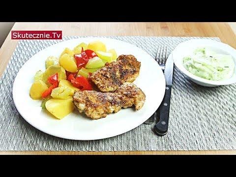 Szybki Obiad Udka Z Patelni Ziemniaki Z Cukinia Mizeria