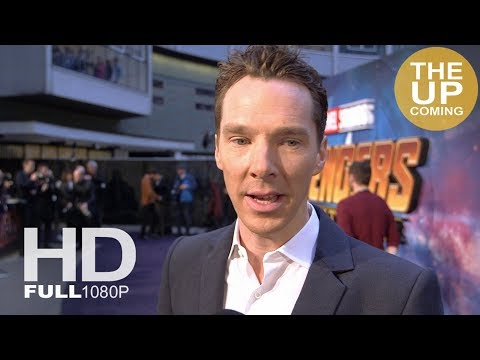Benedict Cumberbatch interview at Avengers Infinity War premiere in London