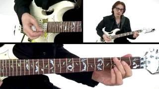 Steve Vai Guitar Lesson - Sisters - Alien Guitar Secrets: Passion & Warfare