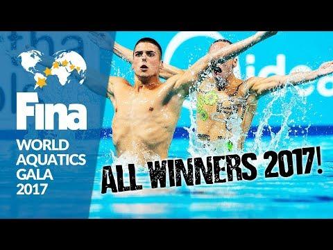 "The Best Athletes of 2017 | FINA World Aquatics Gala 2017 - ""Soirée des Etoiles"""