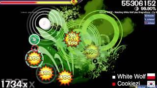 White Wolf vs. Cookiezi - Cry for Eternity - osu! (Cursor Movement Comparison)
