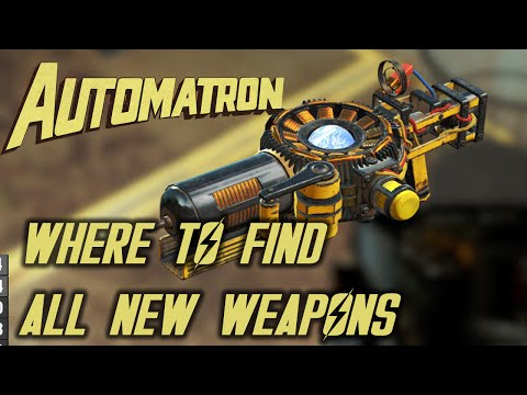 Fallout 4 - Automatron - All New Weapons Locations |