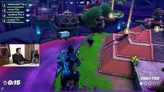 SNAKE EYES PLAYS FORTNITE AS SNAKE EYES with Henry Golding, Leslie Fu, Brooke AB and 100 Thieves