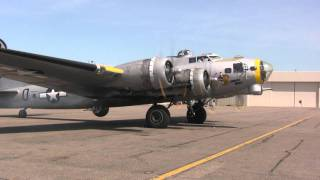 "B-17  ""LIBERTY BELLE""  -  9 Days Before She Burned"