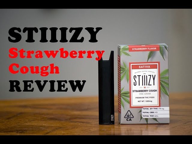Stiiizy Strawberry Cough Review!!!