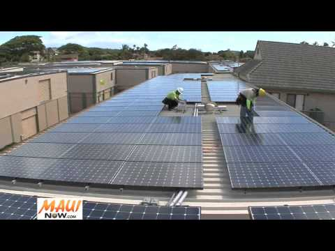 Maui Dedicates its Largest PV Generating System in Honokowai - September 15, 2011