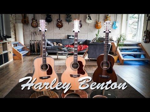 Harley Benton Acoustics Review - CLD-41S / CLJ-412E / CLP-15ME