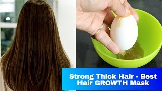 WINTER Hair Mask - Beginners Winter HairCare | EGG HAIR MASK For Thick Healthy Strong Hair