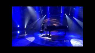 "David Archuleta sings ""Imagine"" by John Lennon on American Idol - PAST and PRESENT"