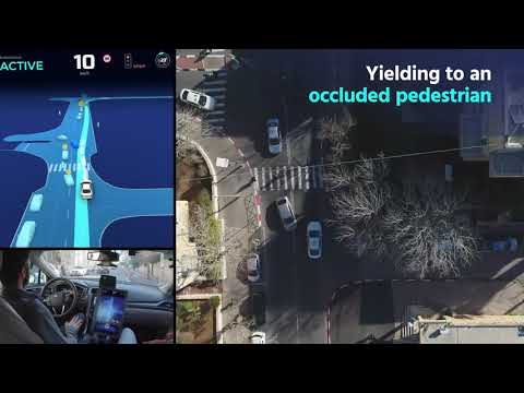 Unedited Ride in Mobileye's Camera-Driven Autonomous Vehicle
