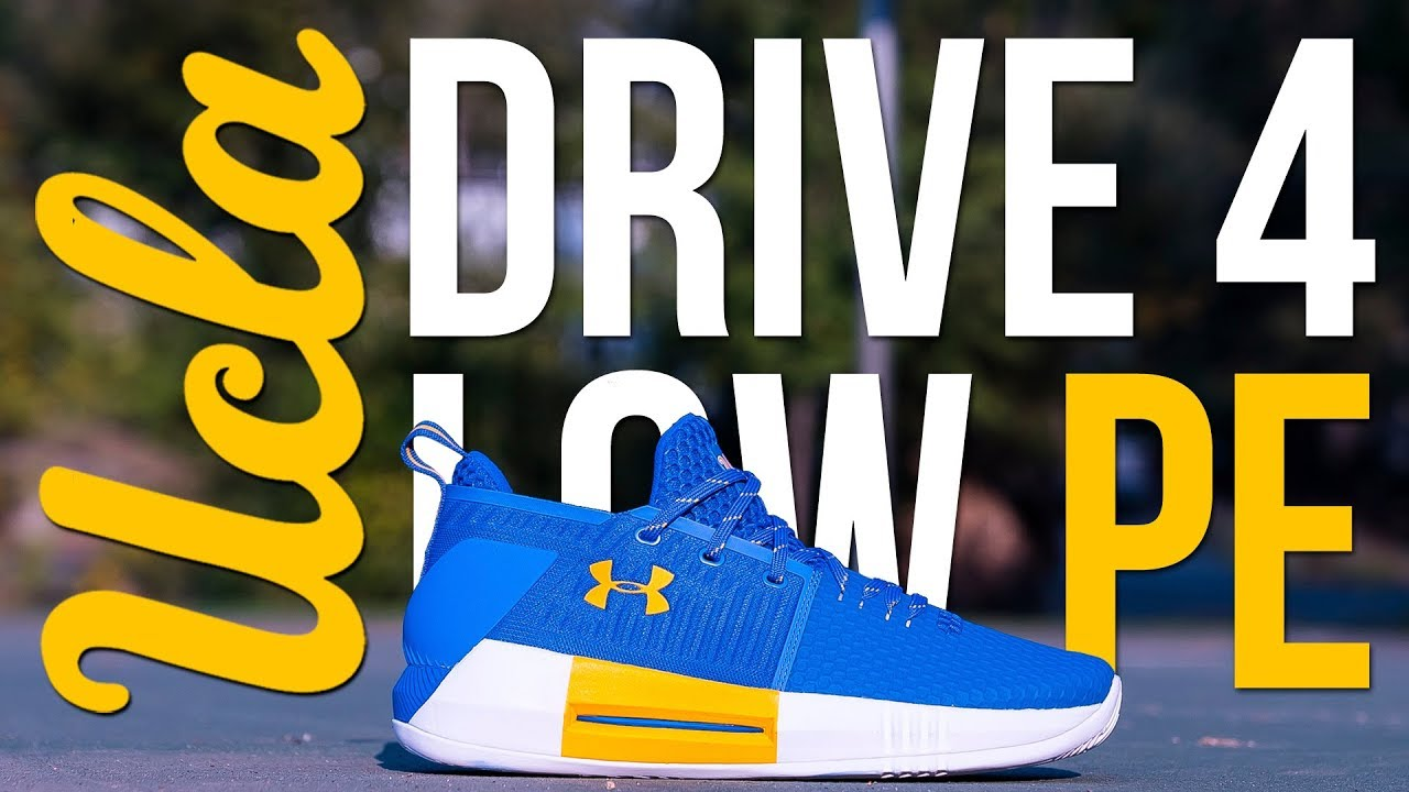 outlet store 519d8 9b33c Under Armour Drive 4 Low UCLA PE - Unboxing   Review