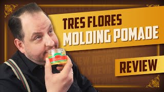 Pomade Review: Tres Flores Molding Pomade wasserbasiert (mit Andy) – english subtitles – thumbnail