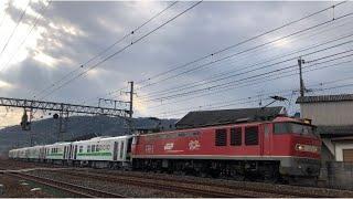 【2021.2.4 甲種輸送】EF510+JR北海道H100形