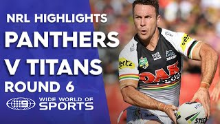 NRL Highlights: Penrith Panthers v Gold Coast Titans – Round 6