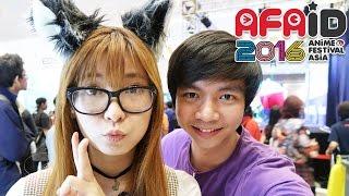 AFAID 2016 #1 - Cosplay - MiawAug Vlog
