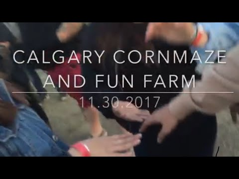 VLOG #3 || CALGARY CORN MAZE AND FUN FARM