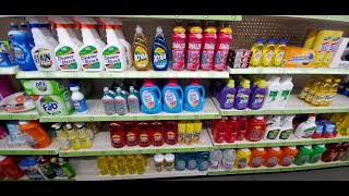 Dollar General Cleaning Products Shelf Organization 11-21-2019