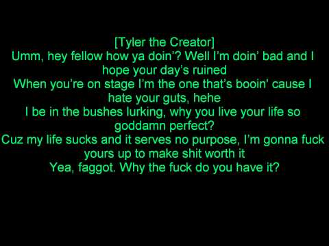 Waka Flocka Flame - I'm A Hater Lyrics Ft Tyler The Creator