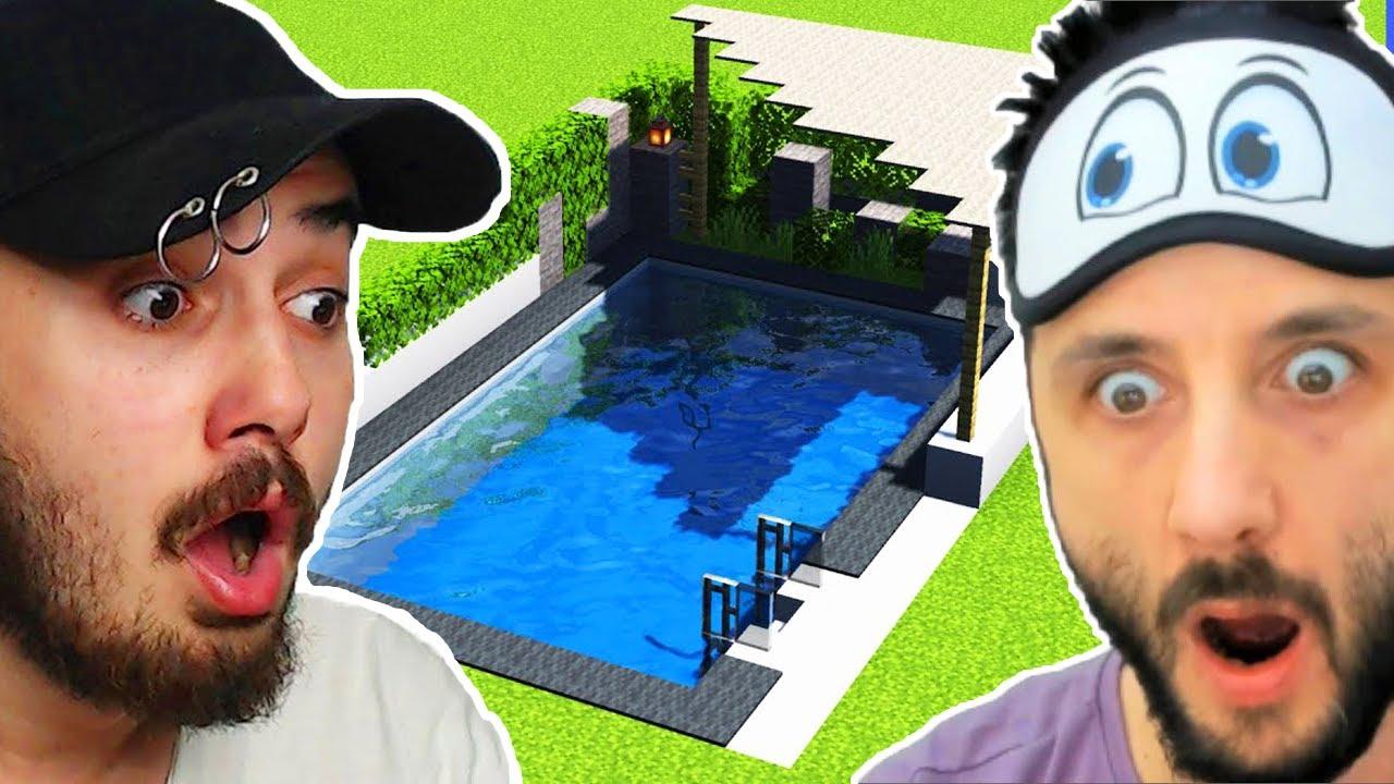 LAZ ALİ BANA HAVUZ HEDİYE ETTİ! MÜKEMMEL OLDU!! Ekiple Minecraft