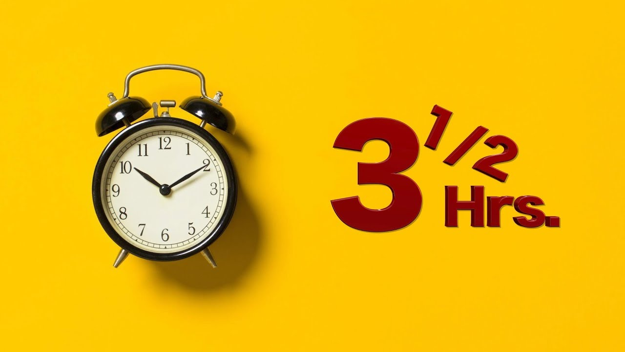 Sleep Timer ∥ 3 Hours 30 Minutes Countdown - YouTube