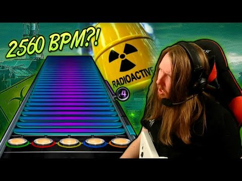 2560 BPM?! ~ Playing URANOID on plastic guitar [Extratone / Extreme Speedcore]
