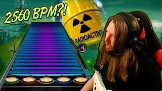 Gambar cover 2560 BPM?! ~ Playing URANOID on plastic guitar [Extratone / Extreme Speedcore]