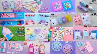 21 EASY CRAFT IDEAS || School Craft Idea || DIY Origami Craft || School hacks / Paper mini gift idea