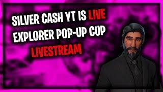 FORTNITE EXPLORER POP-UP CUP EVENT LIVESTREAM (Solo Live Fortnite Event)