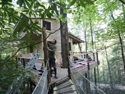 The Canopy Crew: Treehouse company builds rental in Red River Gorge
