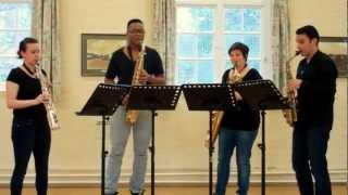 Slavonic Dance No. 7 – saxophone quartet music
