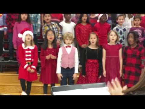 Christmas Performance.3rd Grade Groves Elementary School.TX