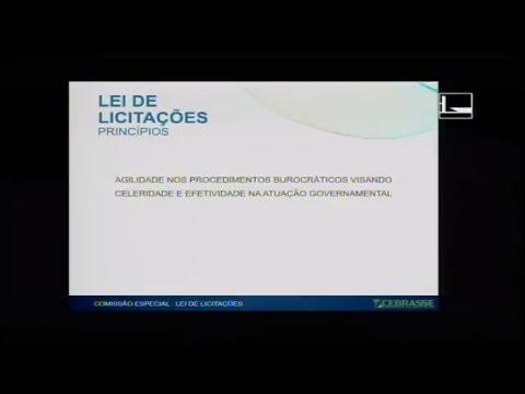 PL 1292/95 - LICITAÇÕES - Audiência Pública - 24/04/2018 - 14:55